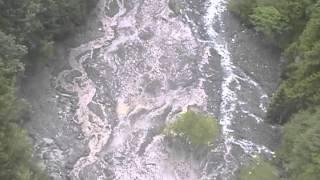 Катастрофа реки Белой! Сель на Мутном Тепляке (облёт).