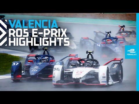 Race Highlights   2021 DHL Valencia E-Prix   Round 5