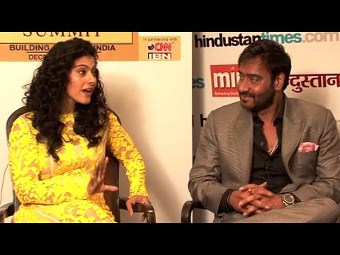 We're a typical Middle-Class family - Kajol & Ajay Devgn | HT Leadership Summit 2013 Mp3