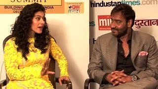 HT Summit: Interview with Kajol and Ajay Devgn