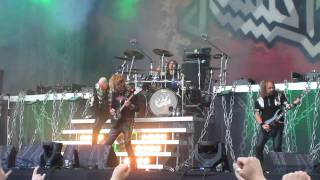 Judas Priest - The Green Manalishi (With The Two Pronged Crown) @ Sauna Open Air 2011