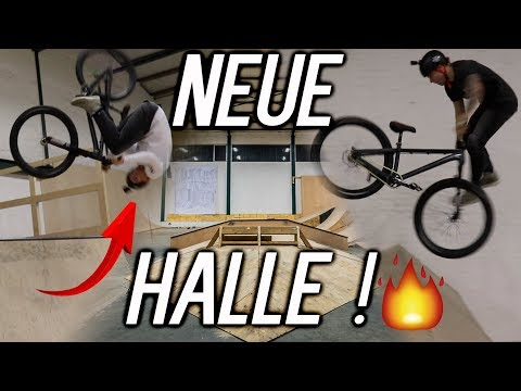 NEUE BIKE-BMX-SKATEHALLE IN DEUTSCHLAND! Gleis D Hannover