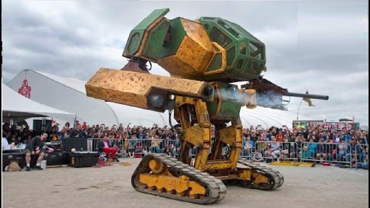 اكبر روبوتات في العالم صنعها الانسان