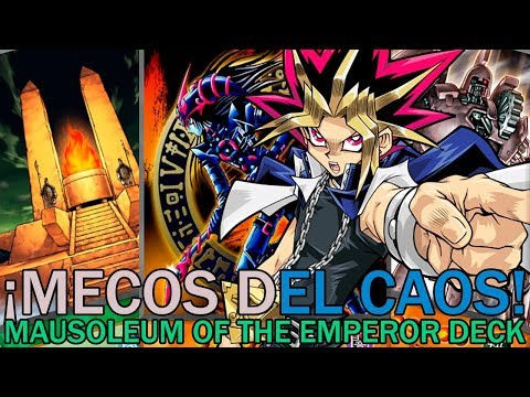 ¡MECOS DEL CAOS! Mausoleum of the Emperor Deck   Yu-Gi-Oh! Duel Links