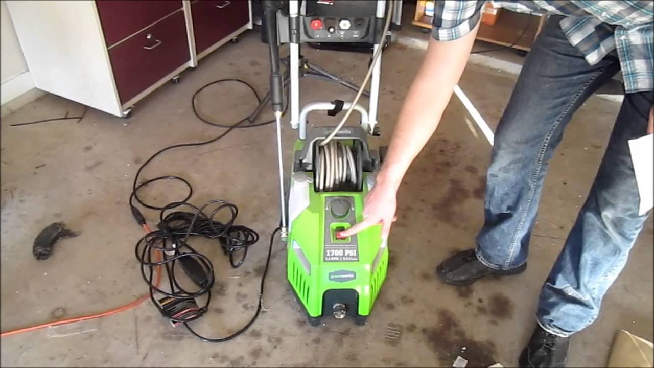 maxresdefault greenworks electric power washer youtube  at reclaimingppi.co