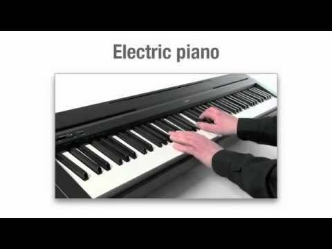 Yamaha p 35 digital piano overview youtube for Yamaha p 35 digital piano