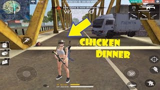 Solo Victory|Garena Free Fire Battle Grounds|Chicken Dinner