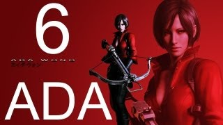 Resident Evil 6 walkthrough - part 6 HD ADA walkthrough gameplay RE6 Full ada walkthrough