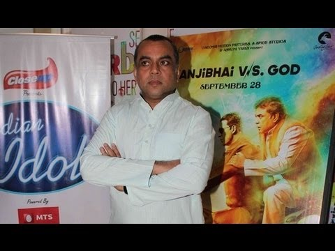 Paresh Rawal Promotes 'OMG Oh My God' On Indian Idol