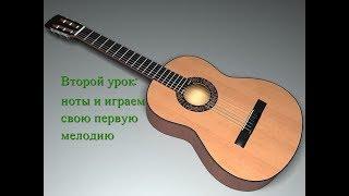Урок 2 - играем Мелодию \