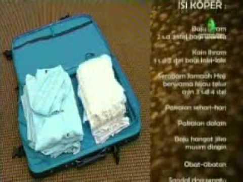 Persiapan Haji atau barang yg harus dibawa saat  Arafah.