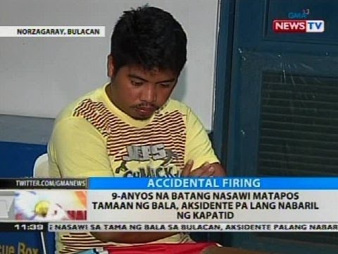 9-anyos na batang nasawi matapos tamaan ng bala, aksidente pa lang nabaril ng kapatid