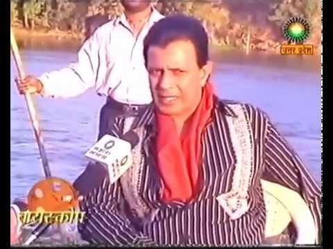 Mithun Interview on the sets of Chingari....