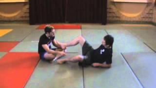 Reilly Bodycomb: Combat Sambo Knee Catch Rolling Leg Lock counter + Belly Down Ankle Locks