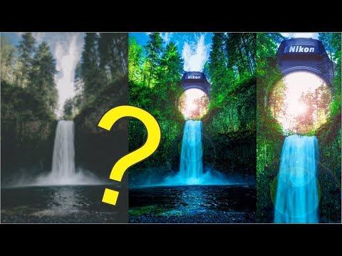 Waterfall & Camera Manipulation I Photoshop Tutorial I Mr Design 1995 thumbnail