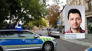 MEHRERE TOTE: Schüsse in Halle mit mehreren Toten - Erste Festnahme
