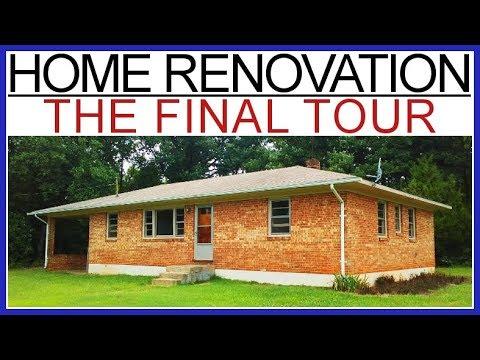 DIY Home Renovation – THE BIG REVEAL!  ($1000 Rental) – #10