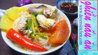 Cách Nấu BÚN NGÓT Chua Cay By Duyen's Kitchen | Ghiền Nấu Ăn