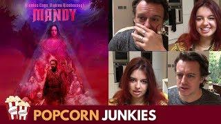 Mandy (Nicolas Cage) SPOILER ALERT - Nadia Sawalha & Family Horror Movie Review