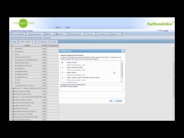 HazWasteOnline: Inserire i dati manualmente Parte I