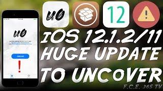 iOS 12.1.2 / 11 HUGE Unc0ver JAILBREAK UPDATE! (UPDATE TO IT!) Stability Improvements and Fixes