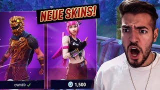 Fortnite The NEW SKINS COME TODAY! 😱💎 Battle Royale Wakez (English)