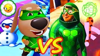 Том Погоня Героев VS Леди Баг и Супер Кот #2  Бен Супергерой VS Карапас!