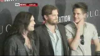 Kings of Leon at Gucci/Roc Nation Pre-Grammy Brunch (February 2011)
