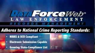Public Safety Software by ADSi - DataForce Web LE Records Management System Software (RMS)