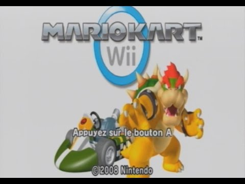 Mario kart wii coupe feuille 50cc youtube for Coupe miroir mario kart wii