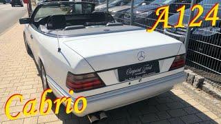 Mercedes-Benz E 200 A124 Cabrio ( Кабриолет ) // Авто в Германии ( w124 )