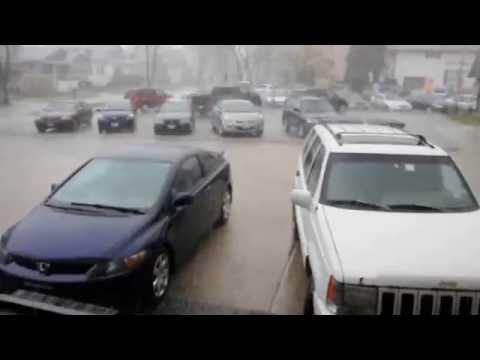 Quick-Moving Storm Brings Hail To Des Plaines
