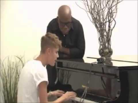 Justin Bieber - Singing Let It Be & Catching Feelings ♥