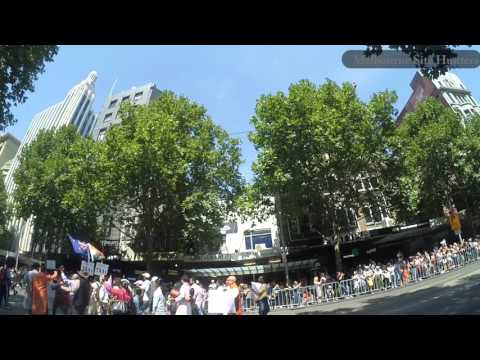 Australia Day Parade 2016 Melbourne