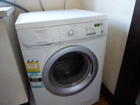 electrolux time manager 7kg eco wash system youtube. Black Bedroom Furniture Sets. Home Design Ideas
