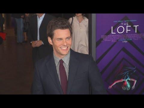 Red Carpet Report: James Marsden in 'The Loft'
