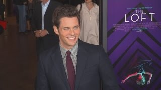 Red Carpet Report: James Marsden in 'The Loft'