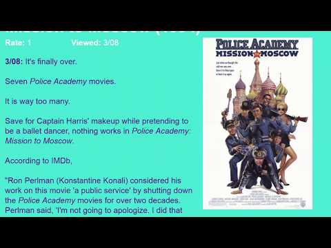Movie Review: Police Academy: Mission to Moscow (1994) [HD]