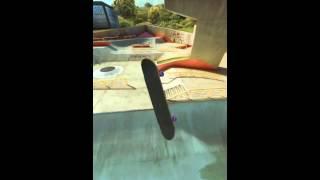 True Skate 900 triple flip