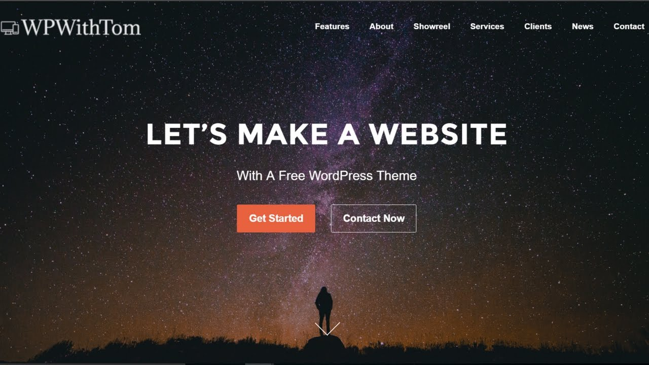 Build a Professional Website With WordPress: How to Make a Single Page  Website