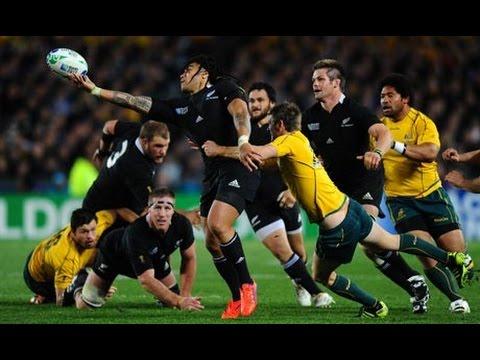 RWC 2011 SF2 New Zealand vs Australia 1st Half