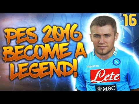 PES 2016 Become a Legend - BANGING IN AMAZING GOALS! IN GREAT FORM! #16
