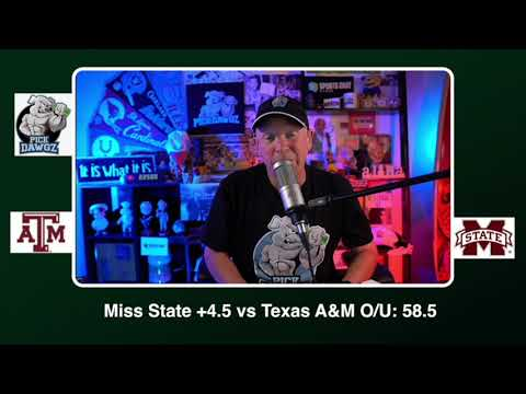 Mississippi State vs Texas A&M Free College Football Pick and Predictions CFB Tips Saturday 10/17/20