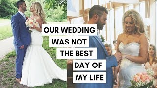 OUR WEDDING WAS NOT THE BEST DAY OF MY LIFE | WEDDING STORY AND Q&A | Lucy Jessica Carter