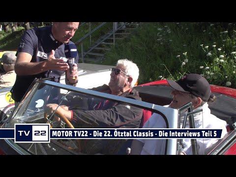 MOTOR TV22: Die 22. Ötztal Classis - Die Interviews Teil 5