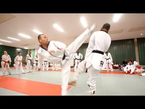 Taekwondo avec Ludovic Vo