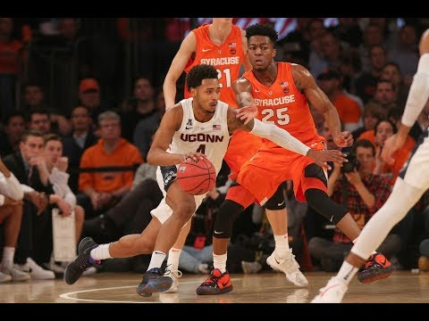 Men's Basketball Highlights - UConn 83, #15 Syracuse 76