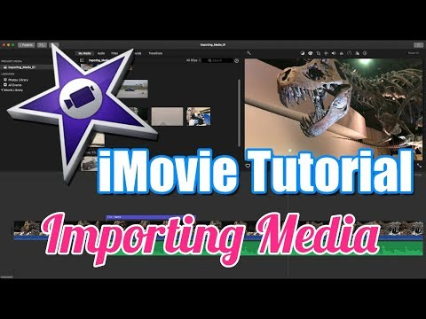 How can i import a video from photos to imovie