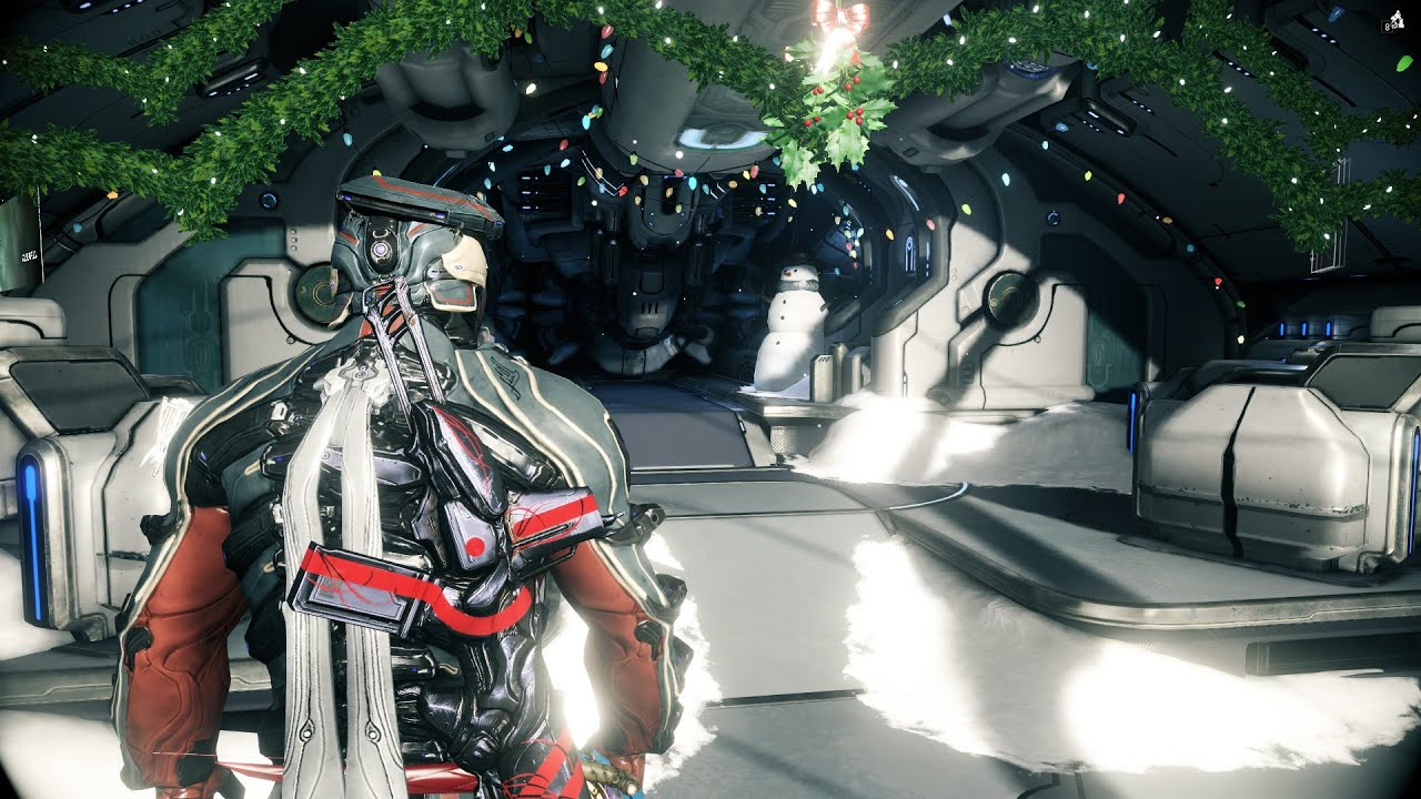 Warframe Festive Liset Decorations For Your Ship (On Market Only 1 ...