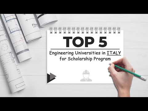 Top Universities In Italy to pursue Engineering | Study Engineering at Public Universities in Italy